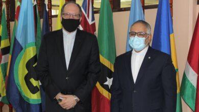 Photo of CARICOM and ACS Secretaries-General meet