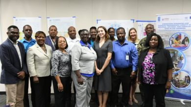 Photo of CDEMA, UNOCHA host data, information management training in Barbados