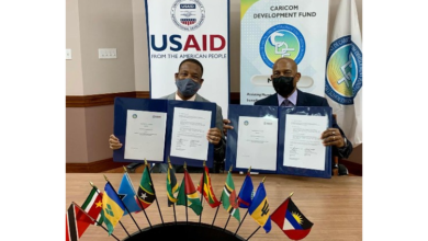 Photo of USAID AND CARICOM Development Fund sign an MOU to strengthen cooperation