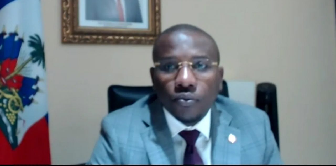 Minister of Foreign Affairs of the Republic of Haiti, His Excellency Dr. Claude Joseph
