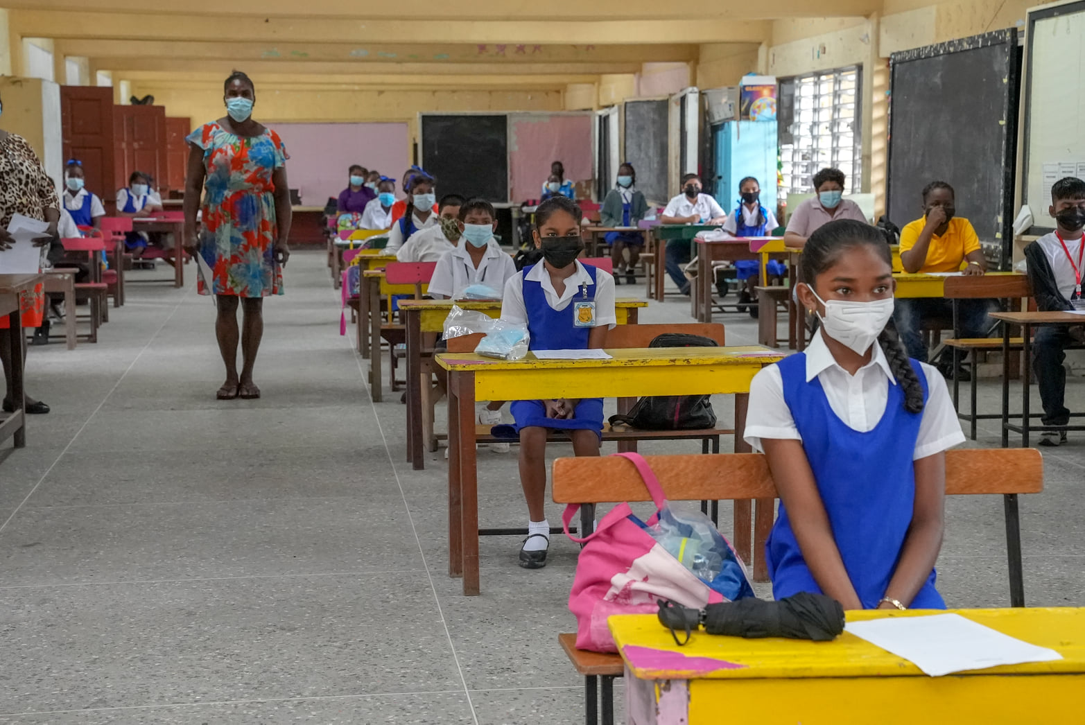 Photo Credits to Ministry of Education- Guyana
