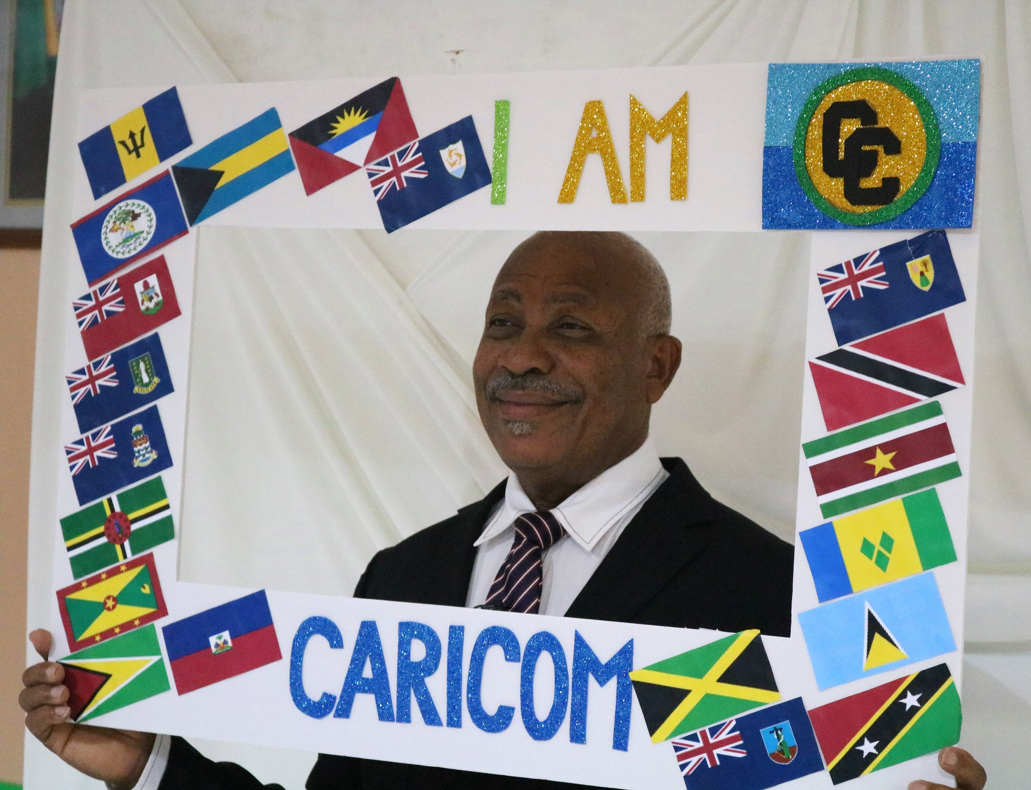 `CARICOM is for all of us, working together ' - H.E. Felix Gregoire, Dominica's Ambassador to CARICOM
