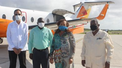 Photo of CARICOM Observer Team for Guyana Elections Recount arrives