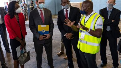 Photo of Critical Personal Protective Equipment Procured for Caribbean Frontline Medical Workers