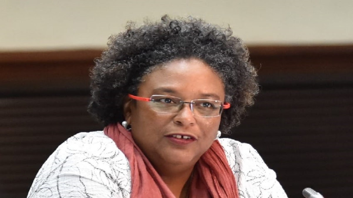 Prime Minister of Barbados and Incoming CARICOM Chair, the Hon. Mia Amor Mottley (Photo via BGIS)