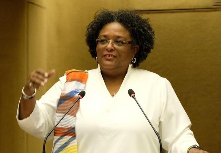 Prime Minister of Barbados and Incoming CARICOM Chair, the Hon. Mia Amor Mottley (Photo via BGIS)