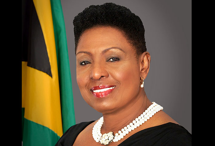 Jamaica's Minister of Culture, Gender, Entertainment and Sports, Olivia Grange (JIS File Photo))