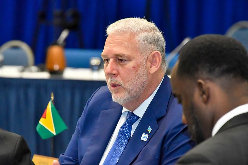 Prime Minister Allen Chastanet of Saint Lucia