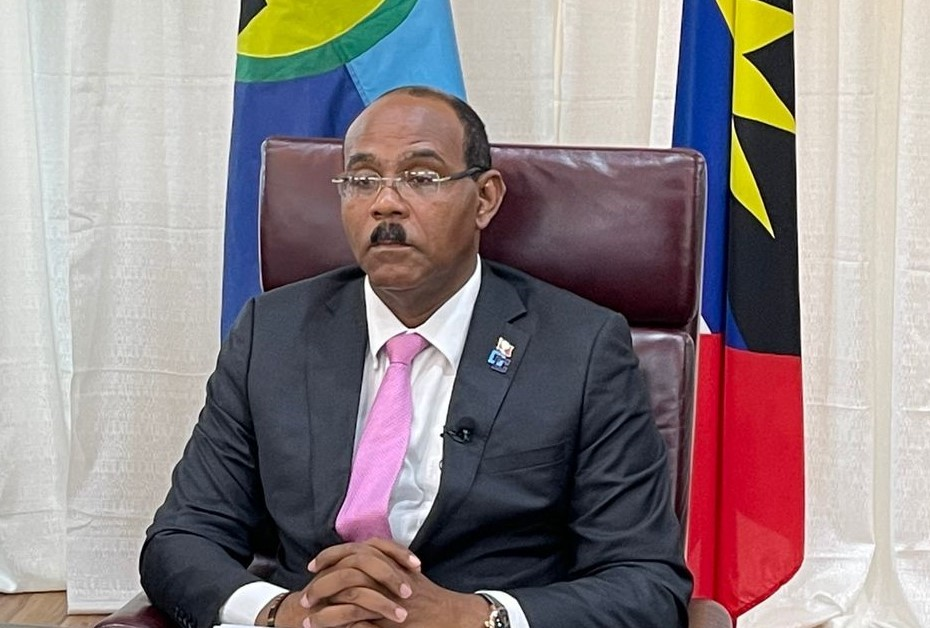Chair of CARICOM, the Hon. Gaston Browne, Prime Minister of Antigua and Barbuda