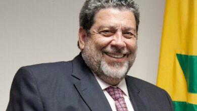 Photo of Statement by the Chairman of the  Caribbean Community (CARICOM) Dr. The Honourable Ralph Gonsalves, Prime Minister of St. Vincent and the  Grenadines, on the ruling by the  Caribbean Court of  Justice
