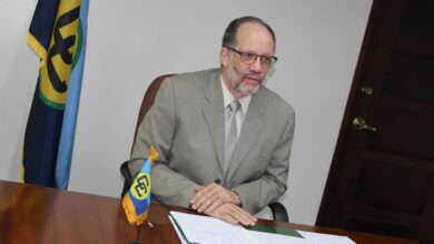 Photo of SG's Remarks at Accreditation of new Belgian Ambassador to CARICOM