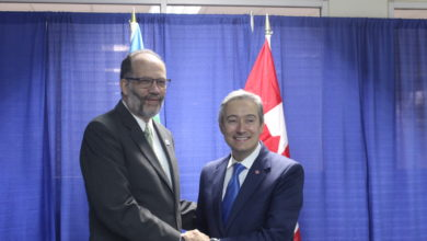 Photo of CARICOM Secretary-General meets CANADA's Foreign Minister