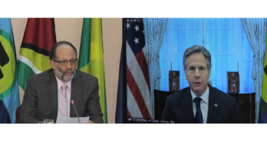 Photo of Remarks by CARICOM Secretary-General Ambassador Irwin LaRocque to the Roundtable between US Secretary of State Hon Anthony Blinken and CARICOM Ministers of Foreign Affairs on Wednesday