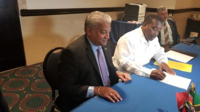 Photo of Jamaica Transport Minister signs CASSOS Headquarters Agreement
