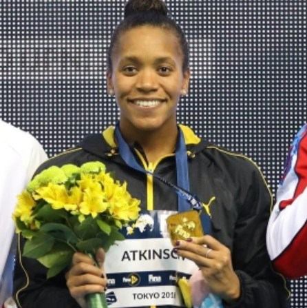 Photo of Jamaica's Atkinson continues World Cup Swimming dominance