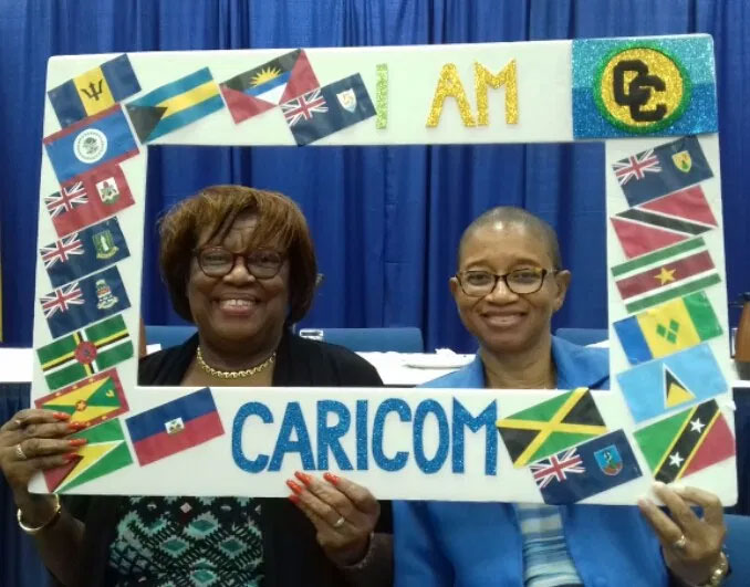 CARICOM stakeholders reaffirming their CARICOM identity at the Barbados national consultations, 9 March 2020