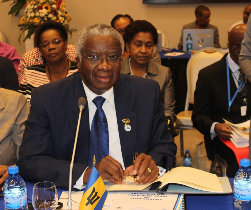 Photo of Barbados Prime Minister signs Agreements at CARICOM Inter-Sessional