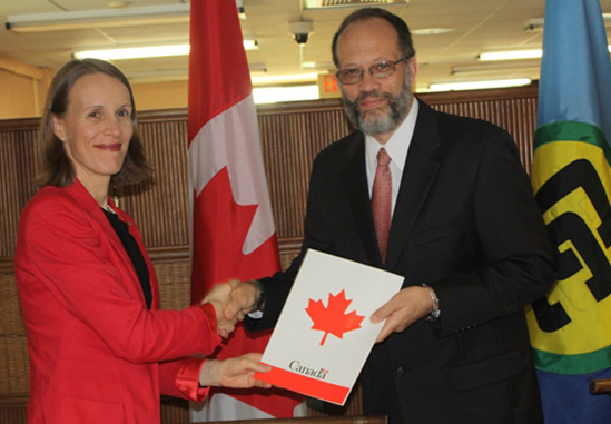 Photo of CARICOM Secretary General commends Canada as an exemplary global leader in development assistance
