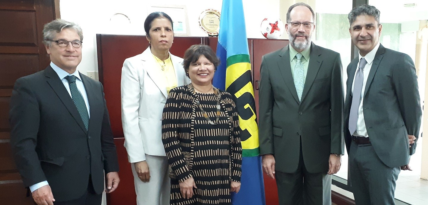 Photo of CARICOM Secretariat team holds talks with visiting Canadian Officials