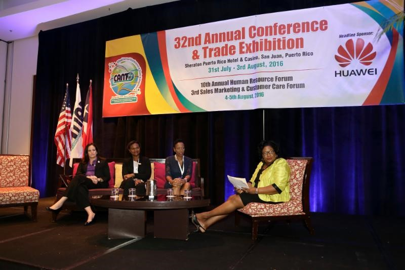 Photo of Caribbean Women on the Agenda  at CANTO 2016