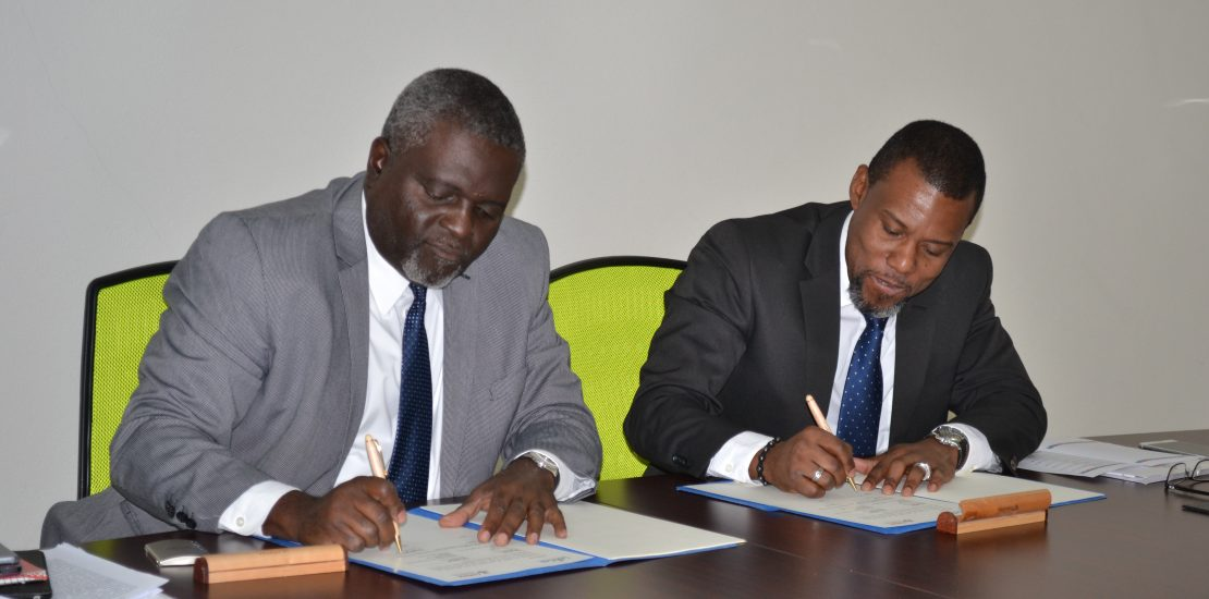 Photo of CDEMA and CARICAD Formalise Partnership for Regional Sustainable Development