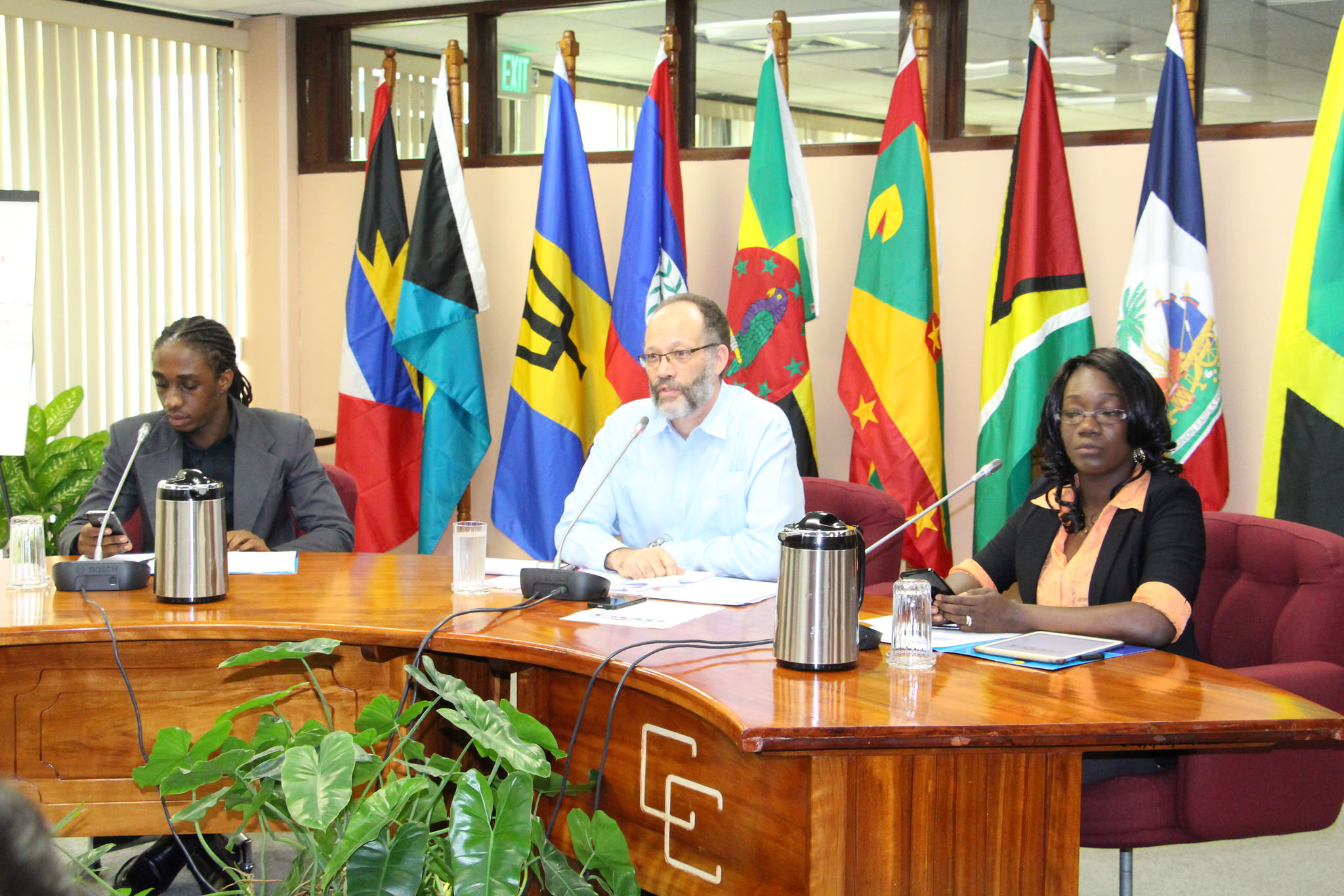 Photo of CARICOM SG, youth hold wide-ranging discussions
