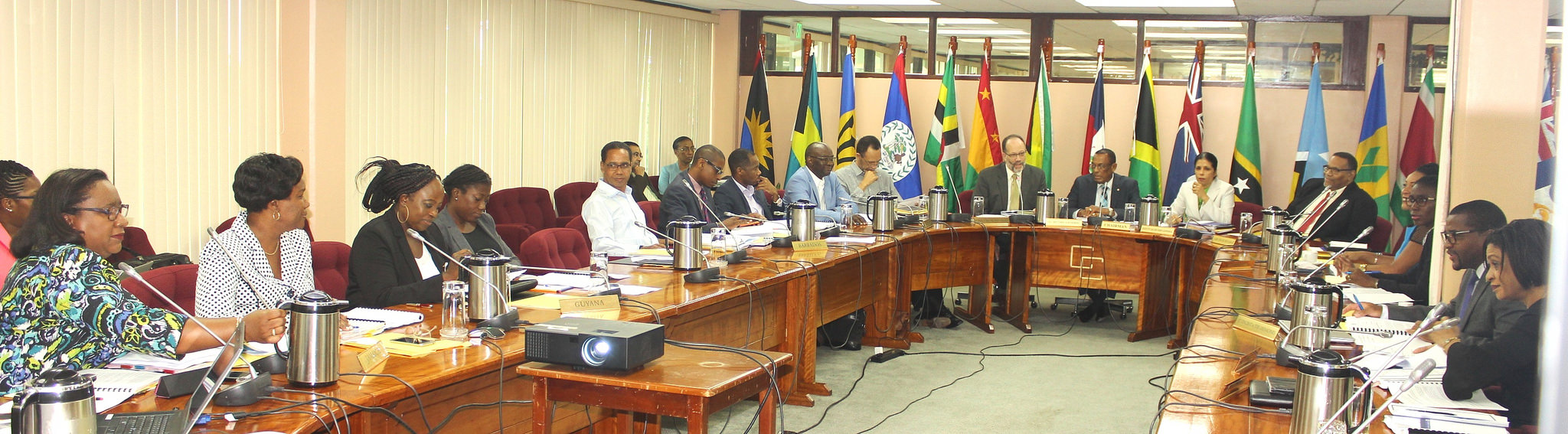 Photo of CARICOM Committee of Ambassadors charting enhanced role
