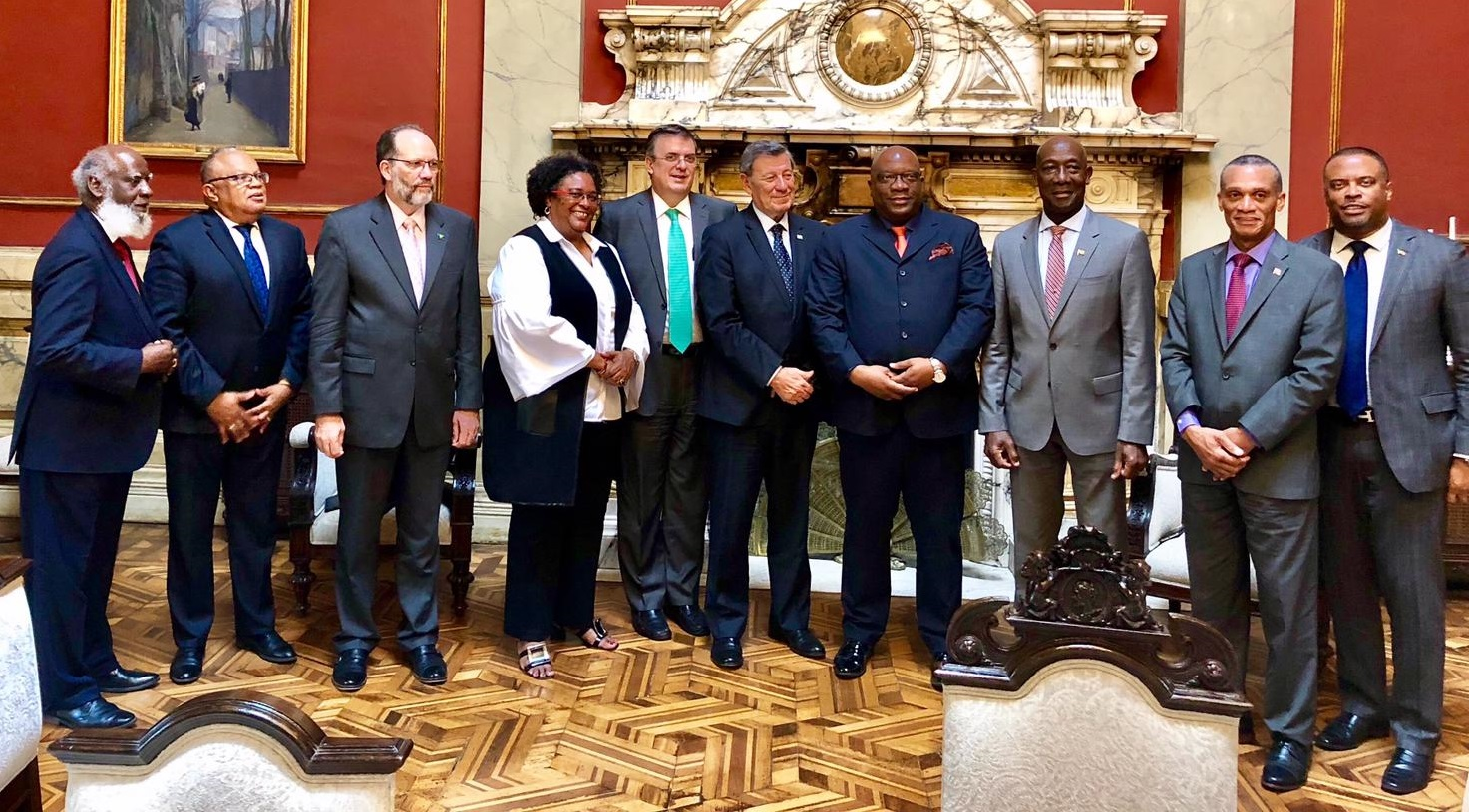Photo of CARICOM signs on to Mechanism of Montevideo following talks in Uruguay on situation in Venezuela