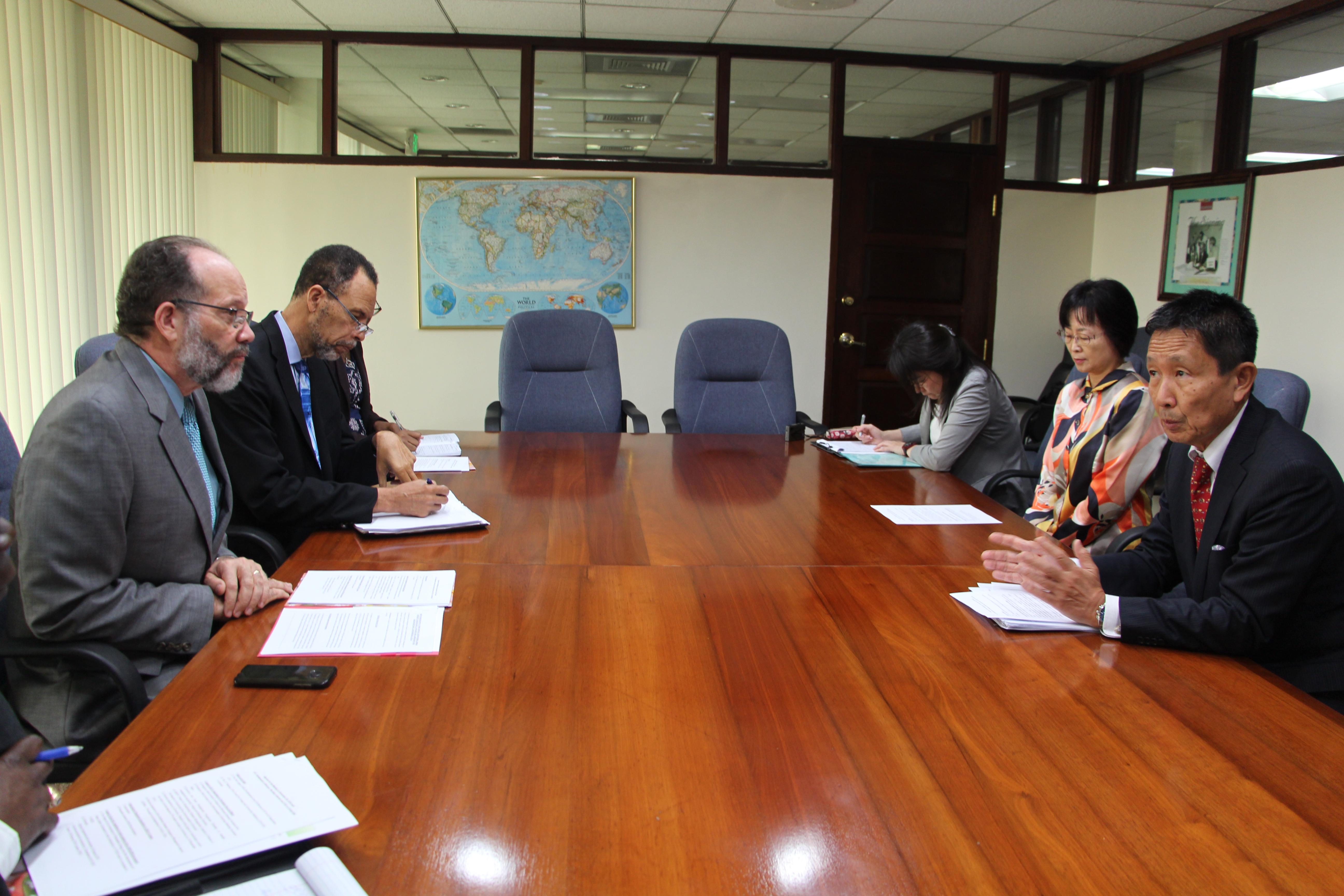 Photo of Secretary-General Holds Talks With Japanese Ambassador