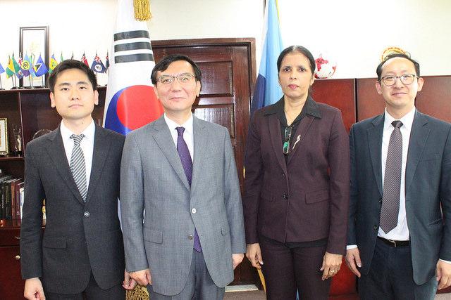 Photo of CARICOM, Korea formalise decade-old friendship