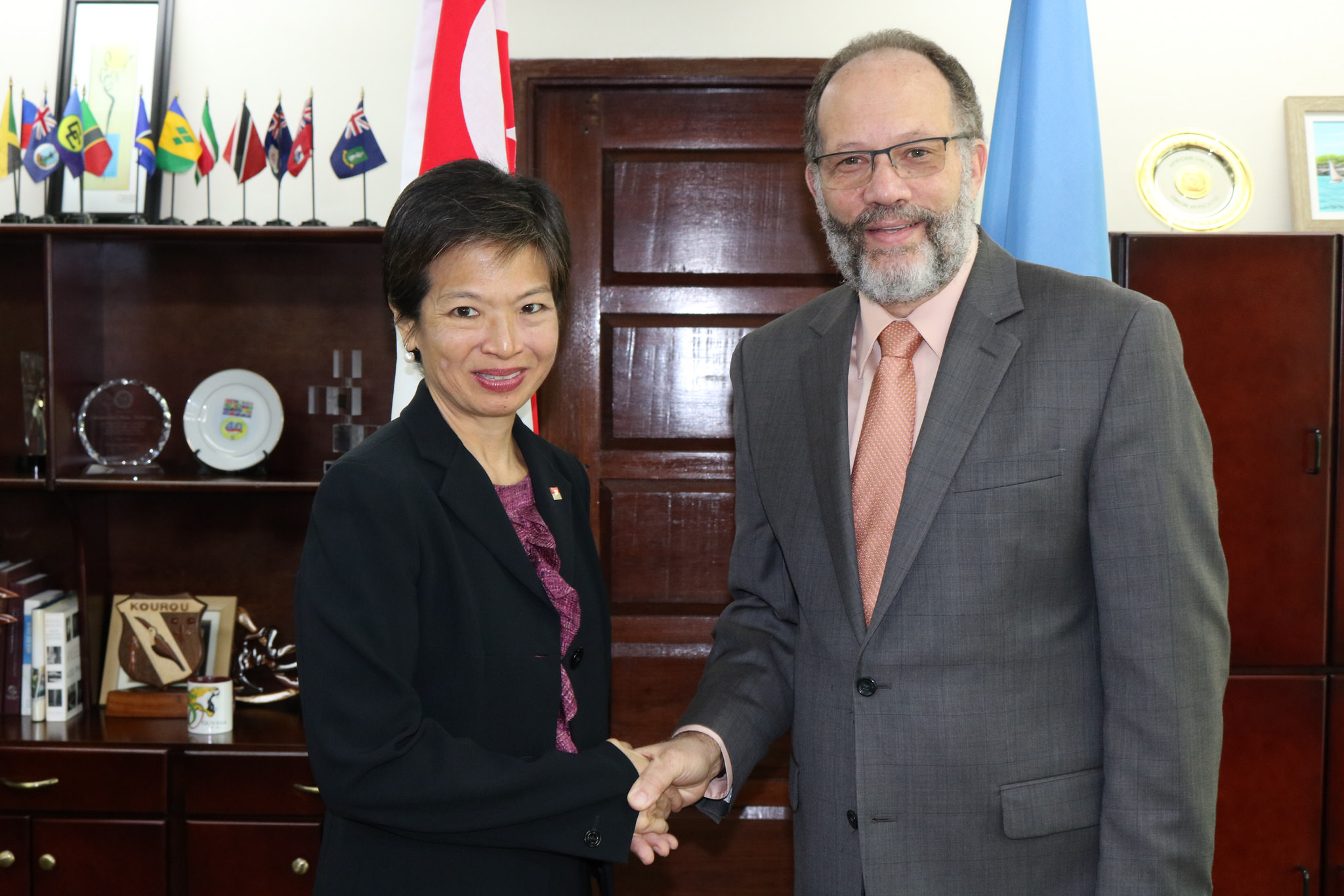 Photo of Singapore keen on sharing development experience with CARICOM