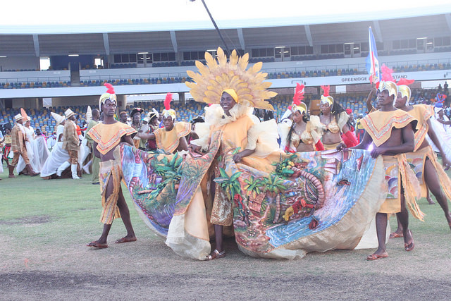 Photo of Cultural traditions, country colours, costumes on show as CARIFESTA XIII opens