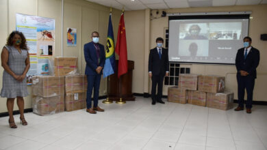 Photo of CARPHA Receives Medical Supplies from the People's Republic of China