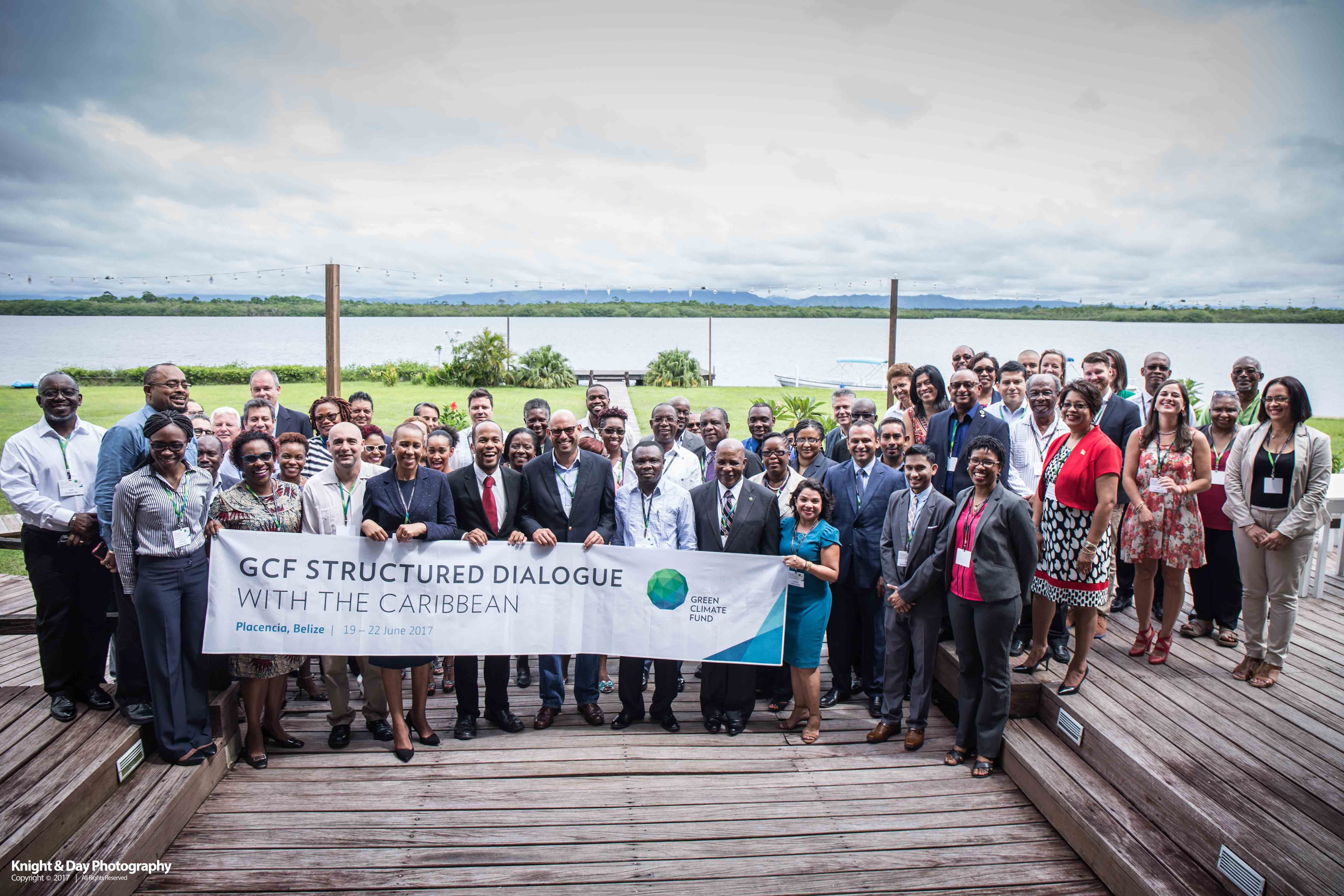 Photo of CCCCC participates in the GCF Structured Dialogue with the Caribbean