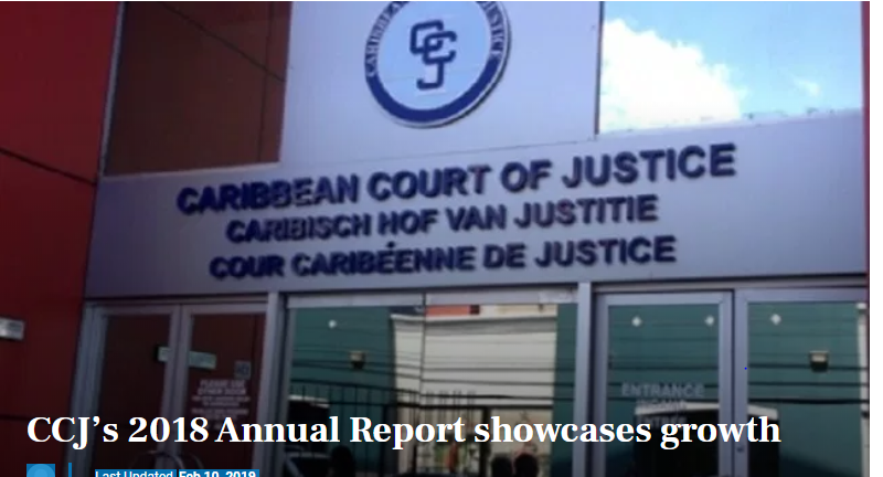 Photo of CCJ's 2018 Annual Report showcases growth