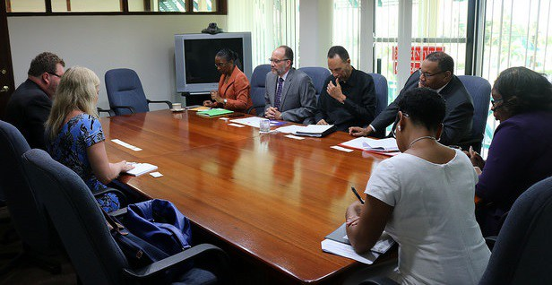Photo of CARICOM Secretary-General hosts Estonia delegation