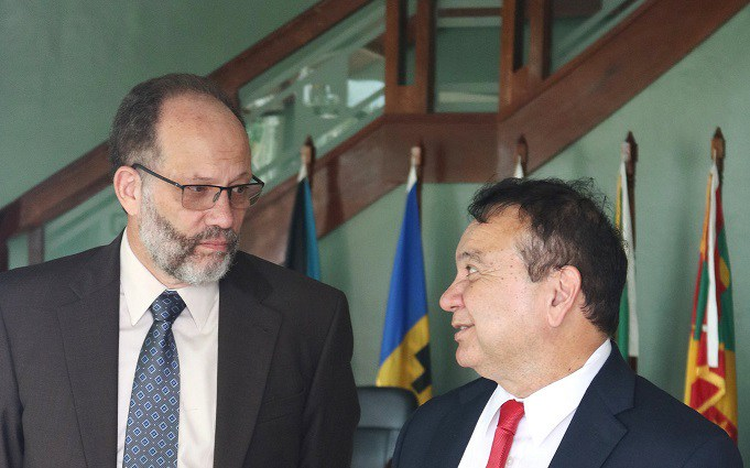 Photo of CARICOM Secretariat and TnT Ministers hold talks