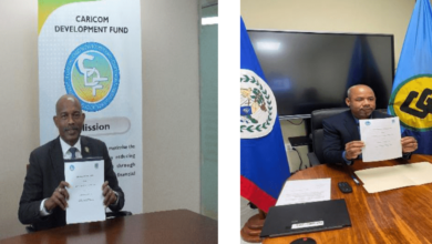 Photo of CARICOM Development Fund (CDF) and Caribbean Community Climate Change Centre (CCCCC) sign Memorandum of Understanding to foster greater cooperation in the areas of Climate Change and Clean Energy matters