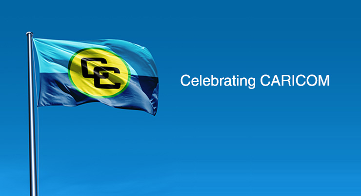 "Photo of ""Celebrating CARICOM"" Day with the CARICOM Song!"