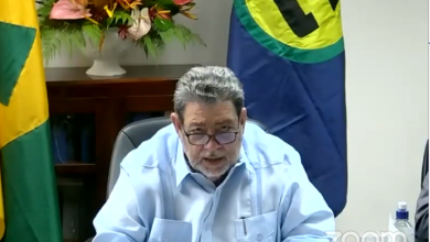 Photo of Address by CARICOM Chairman,  Dr. The Hon. Ralph E. Gonsalves, Prime Minister of St. Vincent and the Grenadines, to the Special Meeting of CARICOM  Heads of State and Government, July 3, 2020