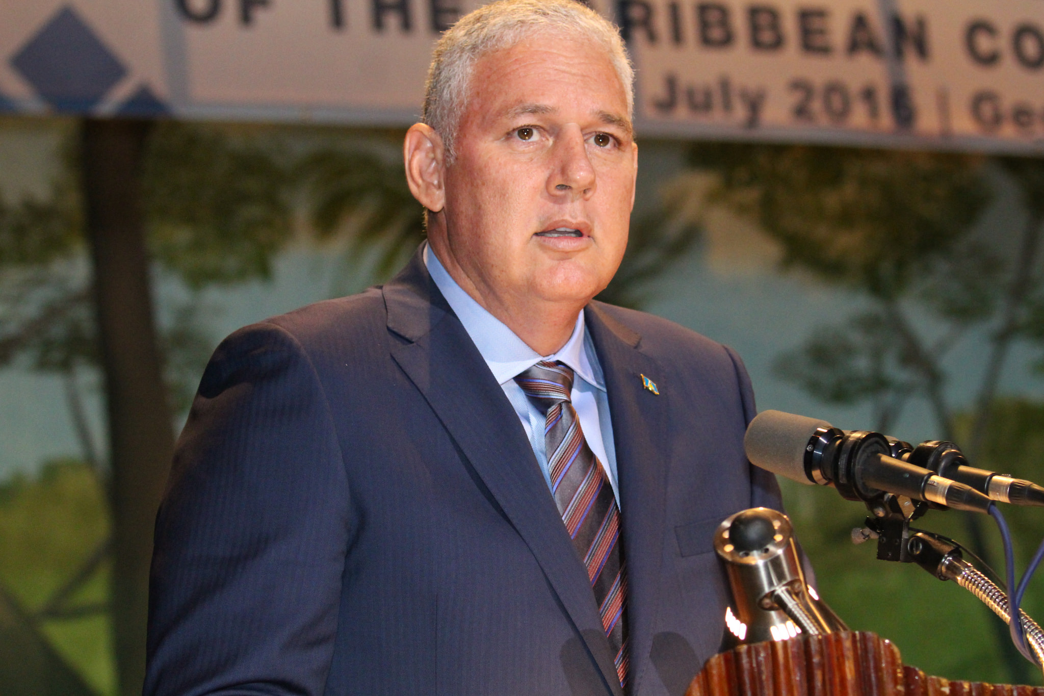 Photo of Remarks by the Prime Minister of Saint Lucia, Honourable Allen Chastanet  At the 37th Regular Meeting of the Conference of Heads of Government  of the Caribbean Community (CARICOM) Georgetown, Guyana. 4-7 July 2016.