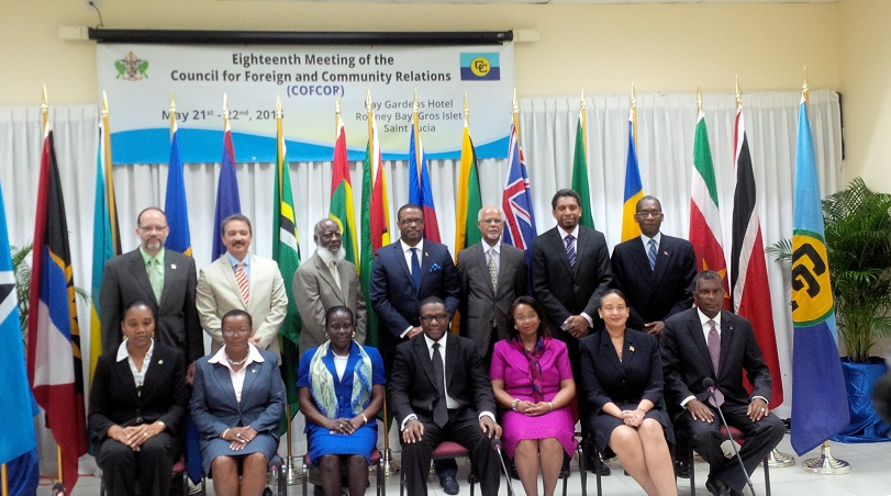 Photo of Communiqué Issued at The Conclusion Of The Eighteenth Meeting Of The Council For Foreign And Community Relations (COFCOR), 21-22 May 2015 Castries, Saint Lucia
