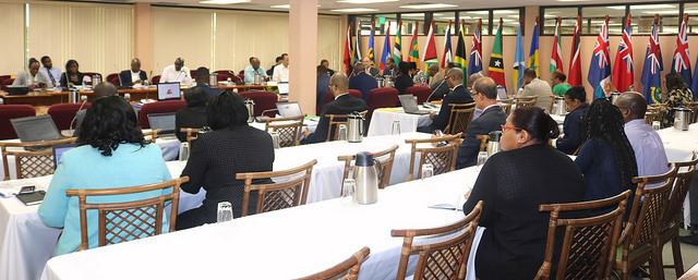 Photo of Ministers responsible for CARICOM Affairs meet in Georgetown