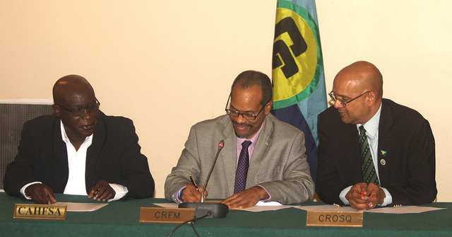 Photo of Strengthening Cooperation – three Caribbean Community Institutions sign MOU