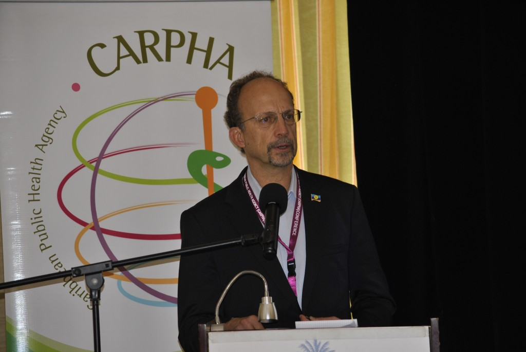 Photo of Message from Dr C. James Hospedales Executive Director Caribbean Public Health Agency (CARPHA)