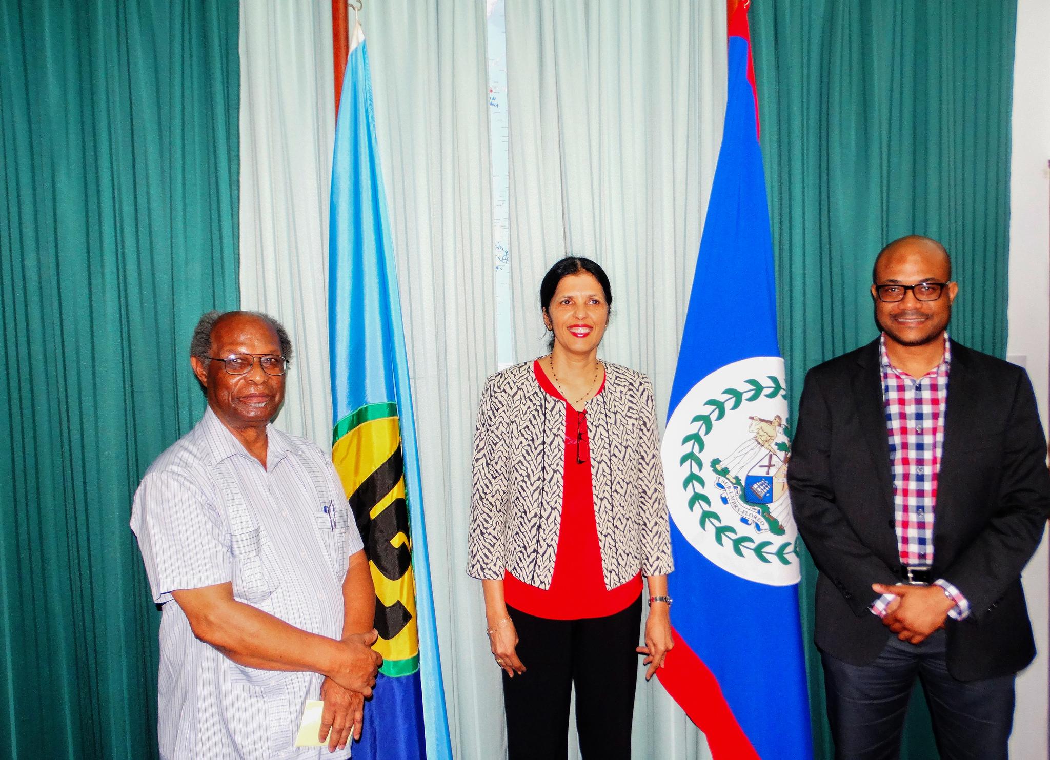 Photo of Deputy Secretary General of CARICOM Visits CCCCC