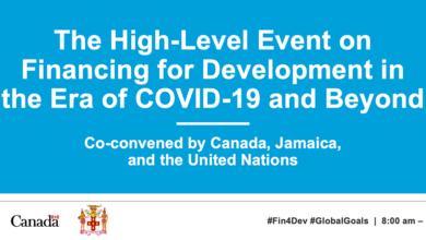 Photo of High-Level Event on Financing for Development in the Era of COVID-19 and Beyond