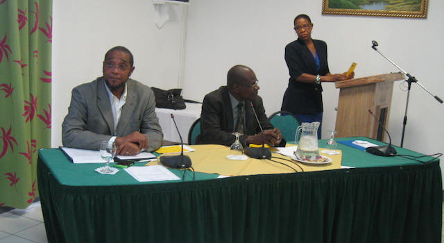Photo of CARICOM Consumer Warning System being rolled out
