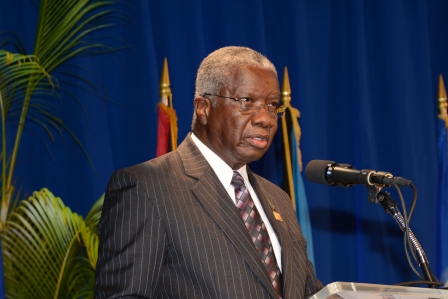 """Photo of Remarks by the Rt. Hon. Freundel Stuart, Prime Minister of Barbados, on the occasion of the High-level Strategic  Dialogue """"CARICOM: Vibrant societies, resilient  economies: a Partnership for Implementation"""" July 2 – 3, 2015"""
