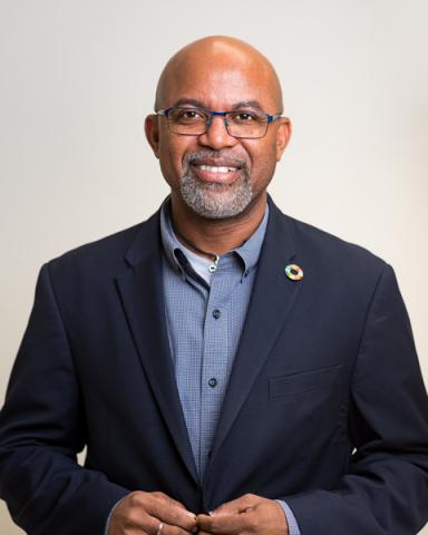 Dr. Gary Jackson, Executive Director of the Caribbean Centre for Renewable Energy and Energy Efficiency (CCREEE)